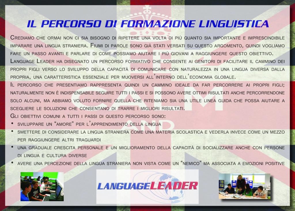 Un percorso di formazione linguistica