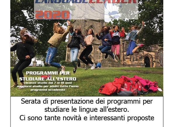 Presentazione programmi 2020